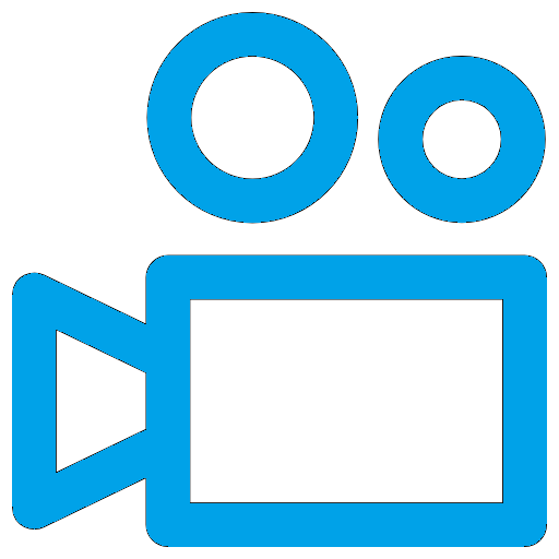 video game movies video camera icon