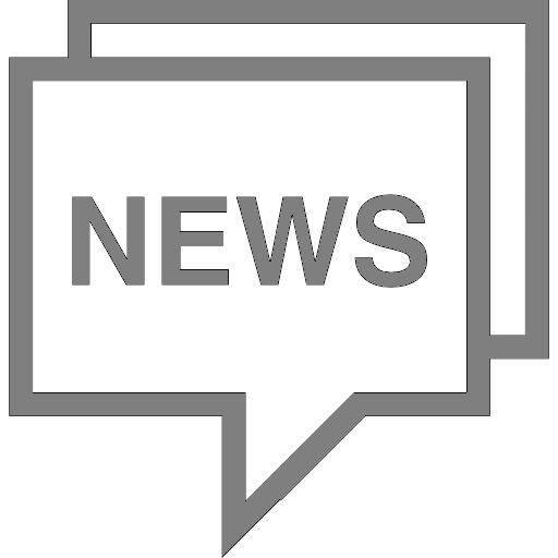 collectors edition news speech bubble icon